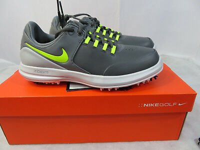 56a14c873455 New Mens Nike Air Zoom Accurate Golf Shoes Dark Grey 909724 001 Wide Many  Sizes