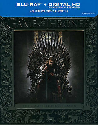 GAME OF THRONES SEASON 1 (Blu-ray, 2014, 5-Disc Set) NEW