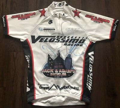 Champ-Sys Cycling Jersey Mens M Velossimo Racing Austin Texas Jack   Adams  Shop afb4624b7