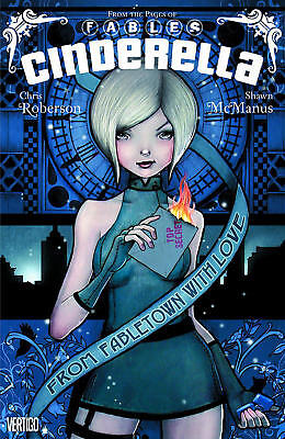Fables: Cinderella From Fabletown With Love TP - Robertson - Graphic Novel - NEW