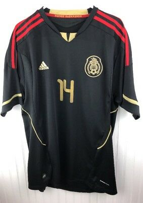 2011 Adidas Mexico Chicharito Jersey Formotion Tech Fit Clima Cool See  Measure 9c57909ab