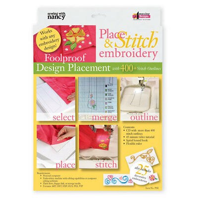 Place & Stitch Embroidery Design Placements by Amazing Designs