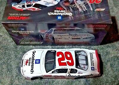 Kevin Harvick #29 2001 Gm Goodwrench Service Plus Rookie 1/24 Scale Monte Carlo