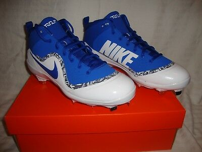 big sale 5203b 06258 Men's Nike Force 917920-444 Air Trout 4 Pro Metal Mid Baseball Cleats Size  10.5