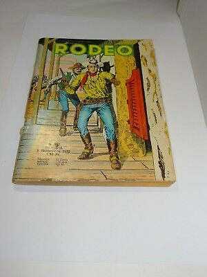 Rodeo N°253 Lug 05 Septembre 1972. Voir photos
