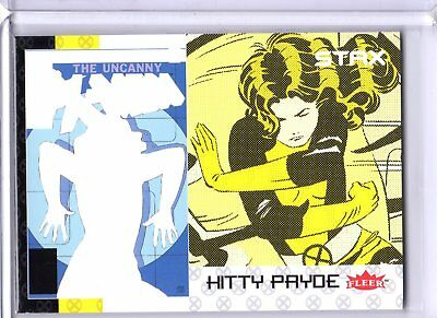 2018 Fleer Ultra X-Men STAX Insert 18C Bottom Layer Kitty Pryde Upper Deck SKC