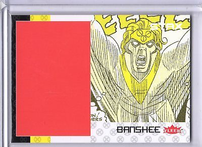 2018 Fleer Ultra X-Men STAX Insert 11C Bottom Layer Banshee Upper Deck A SKC