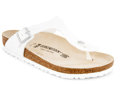 Birkenstock Gizeh Regular Fit Sandal - White JA726