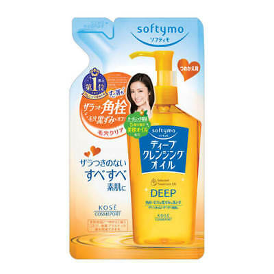 Kose Softymo Deep Cleansing Oil Makeup Remover Refill 200ml