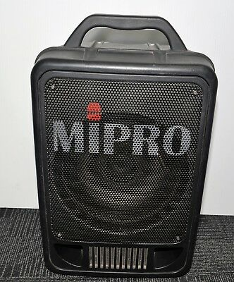 "REDUCED Mipro MA-705 PA System 70 watts 8"" Speaker + Huxley Microphones #76222"