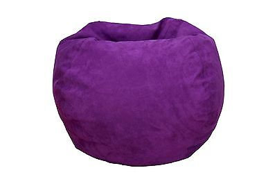 Sensational Large Microsuede Bean Bag 54 72 Picclick Gmtry Best Dining Table And Chair Ideas Images Gmtryco