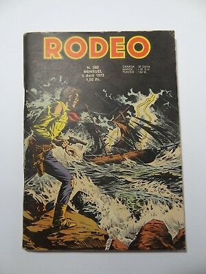 Rodeo N°260 Lug 05 Avril 1973 bon état. Voir photos
