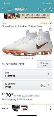 separation shoes 0b0b4 c82cd NIKE MERCURIAL SUPERFLY IV 6 360 Elite FG Soccer Total ...