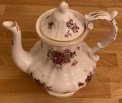 Royal Worcester Hammersley Coffee Pot, Bone China, Made in England