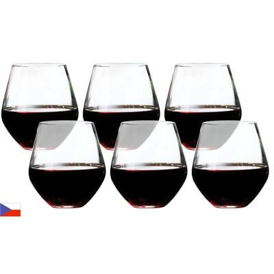 Bohemia by Circle Glass - Soiree Crystalline Stemless Red Wine 520ml Set of 6 (M