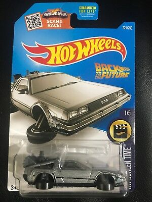 Hot Wheels - Back To The Future Time Machine - Hover Mode Delorean Hw Screentime