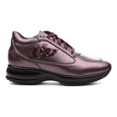 Scarpa Blu Byblos Donna modello Interactive -MARTA- in Pelle Bordeaux -50% 9d1553726cd