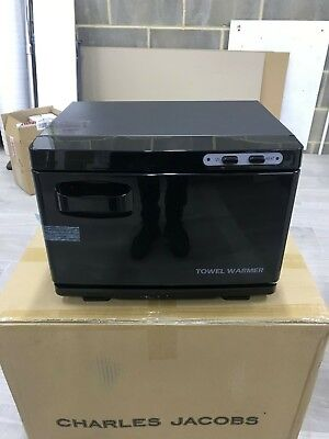 Hot Towel Warmer Machine For Barber Shop In Black Towel Warmer Cabinet