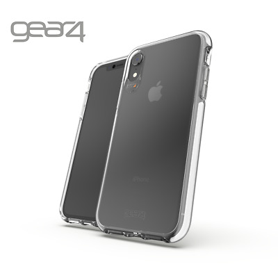 "Gear4 Apple iPhone XR 6.1"" Piccadily Case Cover D30 Clear Gear 4 - White Genuine"