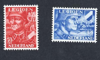PAYS BAS -  NETHERLANDS  N °: 393/394  year: 1942 News stamps  CV : 13 €