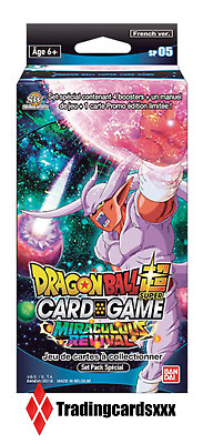 ♦Dragon Ball Super Card Game♦ Set Pack Spécial Série 5 : Miraculous Revival - VF