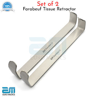 Farabeuf Tissue Retractor Dental Surgical Lip & cheek Retractor Mucoperiosteal