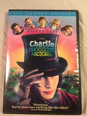 Charlie and the Chocolate Factory (Full Screen Edition) 2005