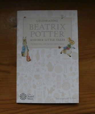 Royal Mint Beatrix Potter 2018 50p Coin Fifty Pence Collector Folder Album  new