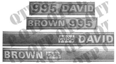 David Brown 995 Decal Kit