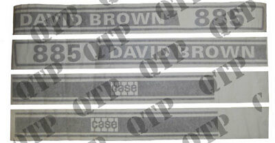 David Brown 885 Decal Kit