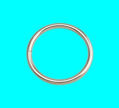 Metal O Rings Collars Buckles Straps for Webbing Strap Tape Craft 25 30 45 58 mm