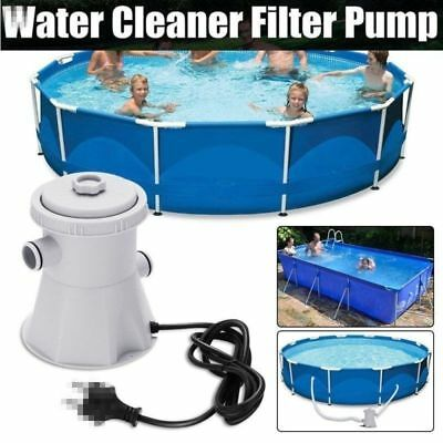Pool Filterpumpe Poolpumpe Schwimmbad Pumpe Kartuschenfilter Electric 220V 20W