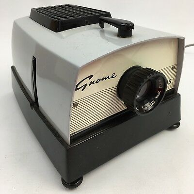 GNOME Grey Classic 305 Single Slide Projector 300w Vintage Collectable 46942