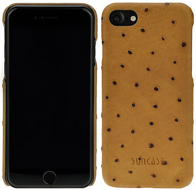 KAVAJ Custodia iPhone X in Pelle Dallas Vera Pelle Nero Cover in