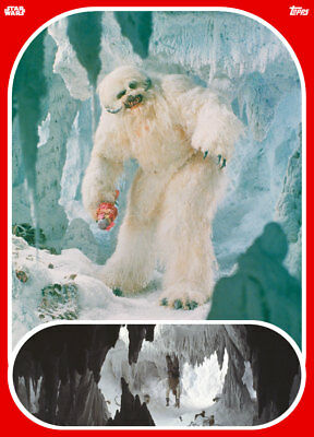 Topps Star Wars Card Trader Marathons 2019 The Empire Strikes Back Week #2 Wampa
