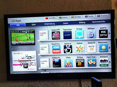 LG 42LW570S,107 cm(42 Zoll),3D,1080p FULL HD,LED,Smart Internet +SAT TV,wie neu
