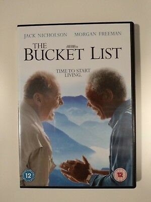 JACK NICHOLSON, MORGAN Freeman-Bucket List (UK IMPORT) DVD NEW