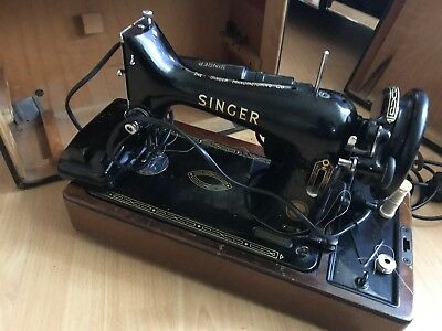 Singer Sewing Machine Vintage Antique Collectable