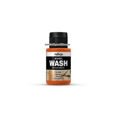 MODEL WASH (35 ml) OXIDO - Vallejo 76506