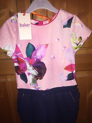 Ted Baker Girls Outfit Jumpsuit 5 Years