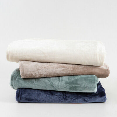 New Habitat Simply The Softest 350gsm Microfibre Blanket