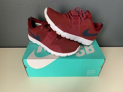 check out a067a 696e0 Nike SB Trainerendor   Worn Once   Crimson White   Mens US Size 8