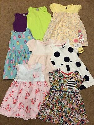 Gorgeous Summer Bundle Of Baby Girl Clothes 9-12 Months