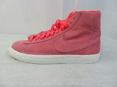new style 6150d d6420 Nike Blazer Mid Big Kids 895850-605 Hot Punch White Shoes Boys Youth Size  6.5