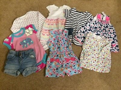 Beautiful Baby Girl Bundle Of Clothes 9-12 Months