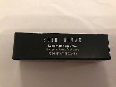 Bobbi Brown luxe matte lip color 4.5g  choose your shade