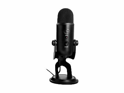 Blue Microphones Yeti - Microphone - blackout