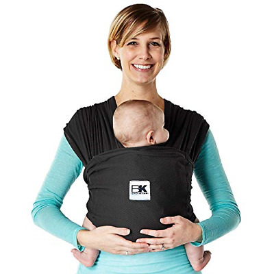 Baby K'Tan Baby Carrier Black Breeze Small