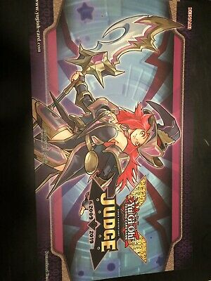 Yugioh Summon Sorceress Judge Playmat Mat Sofu-Ense2 Jump-En084 In Hand! Hot!