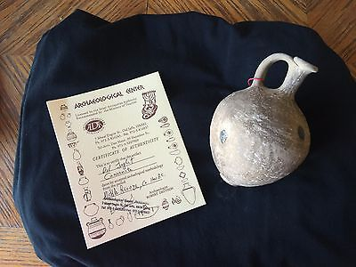 Canaanite Oil Juglet - 1700BC - Authentic - Middle Bronze Age